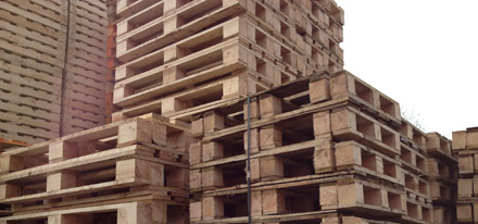 New Wooden Pallets In The Midlands Birmingham And Staffordshire